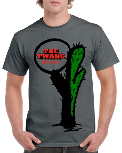 The Twang - Kaktus-Shirt - Wüste Lieder - Farbe: Charcoal