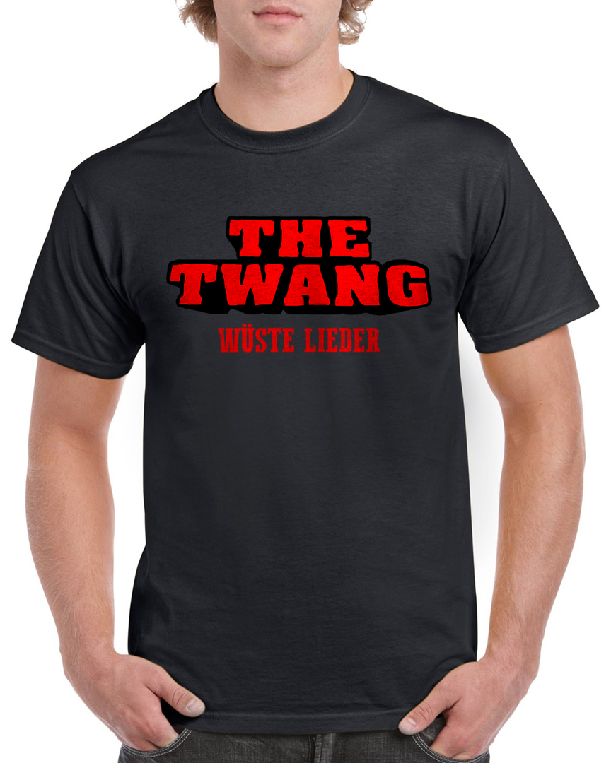 The Twang - Logo-Shirt - Wüste Lieder - Farbe: Black